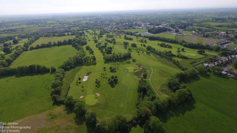 Overview of Moate Golf Club